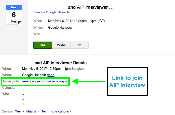 aip interview