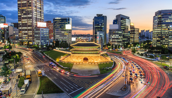 graphic design internship in South Korea