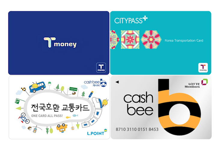 Seoul Subway Cards
